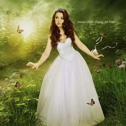 Пазл онлайн: Королева леса