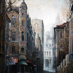 Пазл онлайн: Темный переулочек