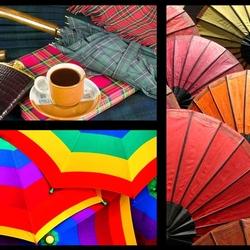 Пазл онлайн: Зонты