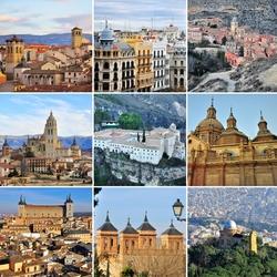 Пазл онлайн: Испания