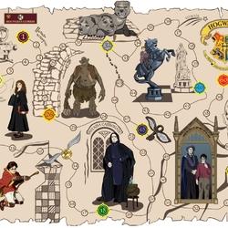 Пазл онлайн: Карта мародеров