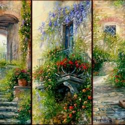 Пазл онлайн: Коллаж  итальянских пейзажей