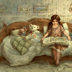 Пазл онлайн: Сказка на ночь