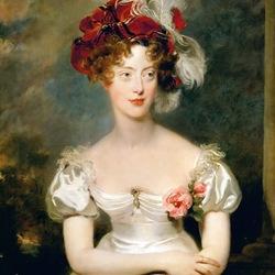 Пазл онлайн: Мари-Каролин де Бурбон, герцогиня де Берри