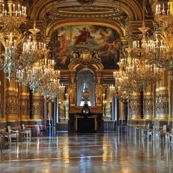 Пазл онлайн: Опера Гарнье. Большое фойе