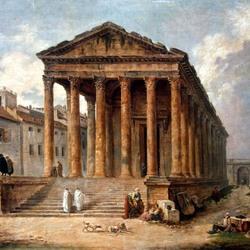 Пазл онлайн: Развалины античного храма