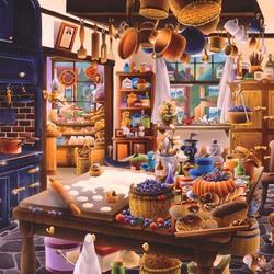 Пазл онлайн: Кухня булочной-кондитерской