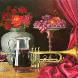 Пазл онлайн: Про вино