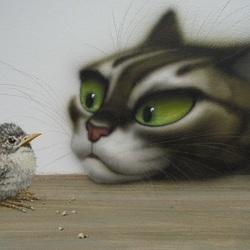 Пазл онлайн: Птенчик