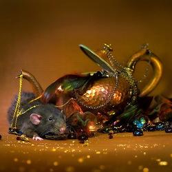 Пазл онлайн: Мышиные сокровища