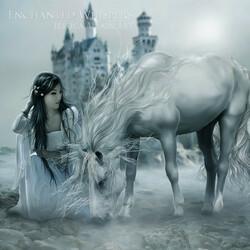 Пазл онлайн: Лошадь и девушка