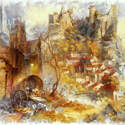 Пазл онлайн: Старый замок