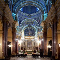 Пазл онлайн: Собор Святого Джонса в Валетте