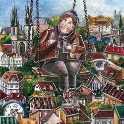 Пазл онлайн: Сентябрь в Праге