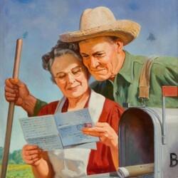 Пазл онлайн: Долгожданное письмо