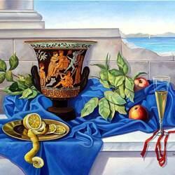Пазл онлайн: Греческая ваза
