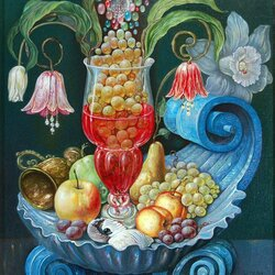 Пазл онлайн: Испанский натюрморт