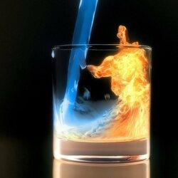 Пазл онлайн: Огненный напиток