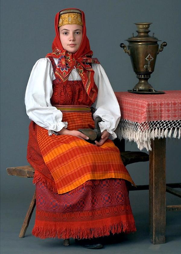 Картинки русской одежды