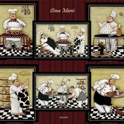 Пазл онлайн: Веселые повара