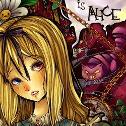 Пазл онлайн: Меня зовут Алиса