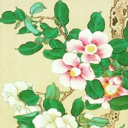 Пазл онлайн: Старинная японская гравюра