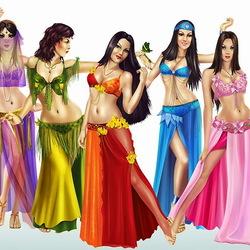 Пазл онлайн: Восточные танцы