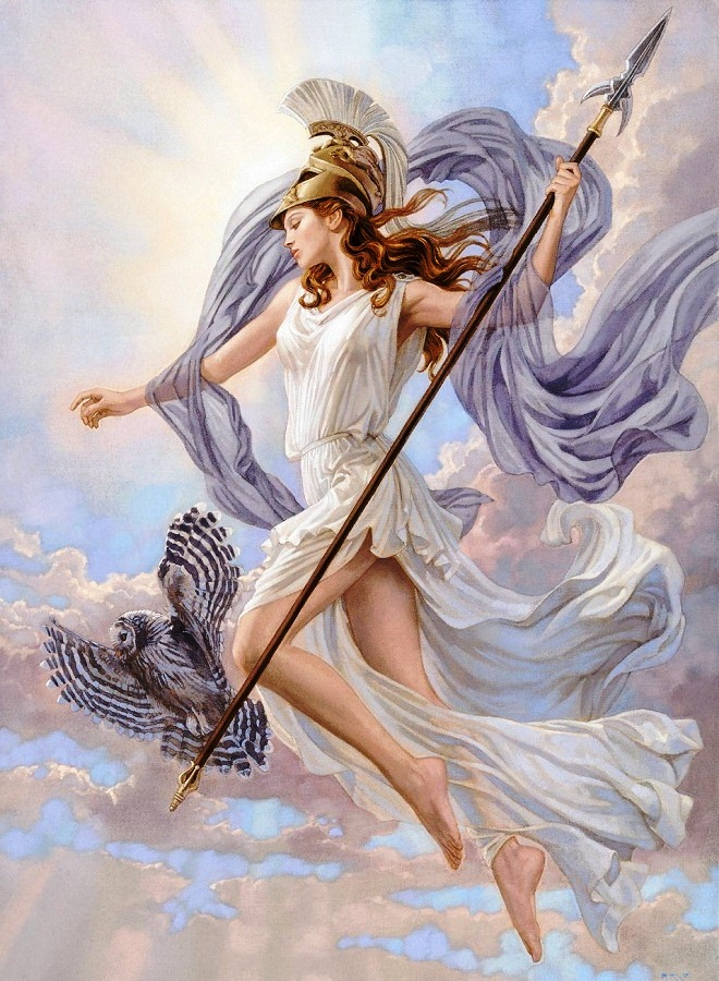 pallas athene versus minerva The similarities and differences between the two goddess, minerva and athena.