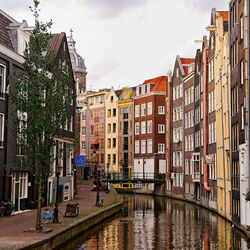 Пазл онлайн: Амстердам