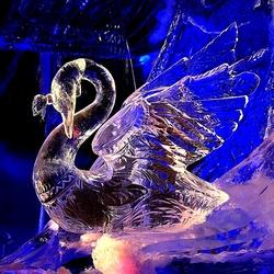 Пазл онлайн: Ледяная скульптура