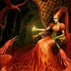 Пазл онлайн: Королева Фениксов