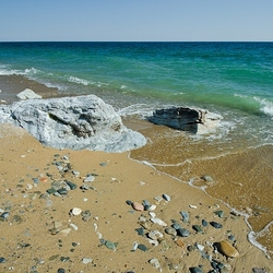 Пазл онлайн: Берег Байкала