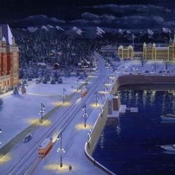 Пазл онлайн: Рождество в Ванкувере