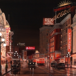 Пазл онлайн: Ванкувер. Хастингс-стрит - театральная улица