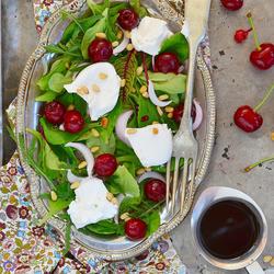 Пазл онлайн: Нежный салат