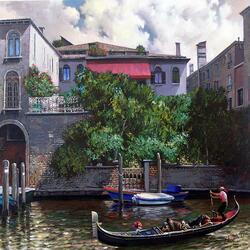Пазл онлайн: Уголок Венеции