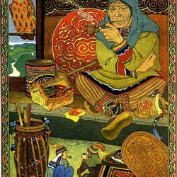 Пазл онлайн: Сказки народов Дальнего востока