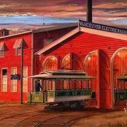 Пазл онлайн: Старое трамвайное депо