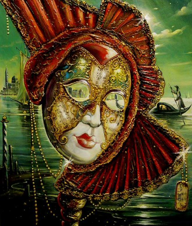 домашнего картинки венецианских масок для декупажа гинекологическая