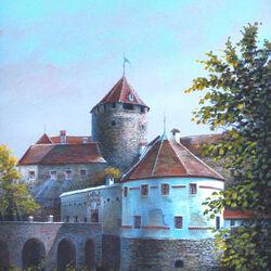 Пазл онлайн: Австрия. Замок Шлайнинг