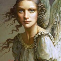 Пазл онлайн: Прекрасный Ангел