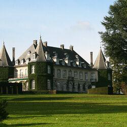 Пазл онлайн: Замок в Бельгии