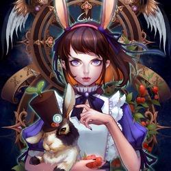 Пазл онлайн: Алиса
