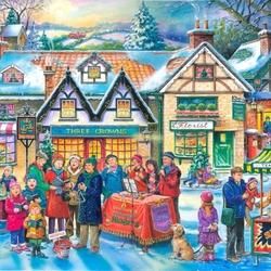 Пазл онлайн: Рождественские песни