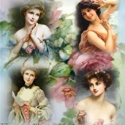 Пазл онлайн: Очаровательницы