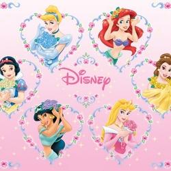 Пазл онлайн: Любимые принцессы