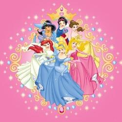Пазл онлайн: Мультяшные принцессы