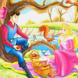 Пазл онлайн: Аврора и Филипп
