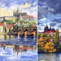 Пазл онлайн: Сказочная Прага