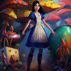 Пазл онлайн: Алиса: безумие возвращается